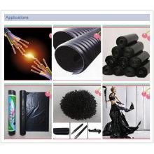 Polyethelen Carbon Black Masterbatch für Plastiktüten und Rohre