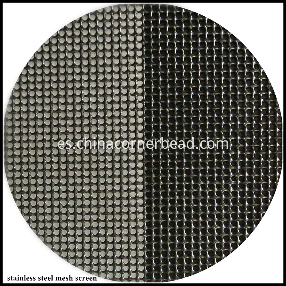 stainless steel mesh screen 80 black