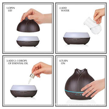 400ml Weed Essential Oil Diffuser