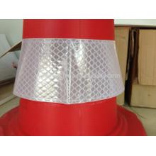 Manga de cone de tráfego reflexiva do PVC