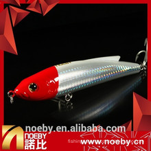 2015 NOEBY ABS plastic hard fishing baits sinking stick pencil lure