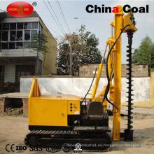 Conductor espiral hidráulico diesel de la pila de tornillo de la correa eslabonada para la venta