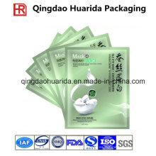Bolso de empaquetado a prueba de humedad de la máscara facial plástica de encargo, bolsa de la máscara