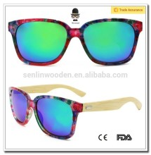 Italian Brand Name Fashion Wooden Sunglass polarized Sunglasses 2015 CE/FDA