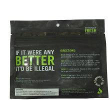 Wiederverschließbarer Tabak-Beutel-Großhandel, kundengebundene Tabak-Tasche