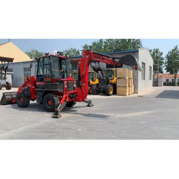 Multi-purpose 60-120HP China cheap prices new backhoe loader
