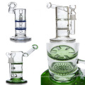 Turbine Perc Sidecar Water Pipe for Smoke with Honeycomb (ES-GB-071)