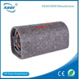 75w 8'' car powered subwoofer active magnet 100mm with tunnel box