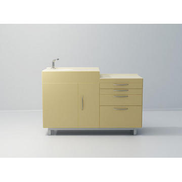 King Series Wb+CT Dental Cabinet
