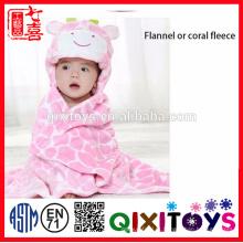 Cobertor de Banho do berçário Do Bebê animal em forma de Berçário Pottery Manta bebe crianças cobertor do bebê