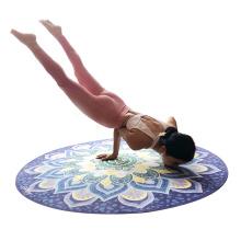 Yugland Exercise Nonslip Suede Customized Round Yoga Mat
