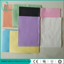 Three Ply Colorful Disposable Dental Bib