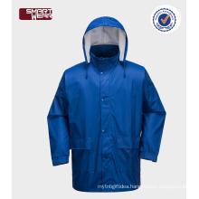 water resistant fabric waterproof windproof polyurethane raincoat rain jacket