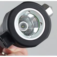 Solar Flashlight Survival Hammer Multifunctional Compass