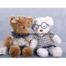 High Quality Curly Teddy Bear Yangzhou Plush Toy Factory