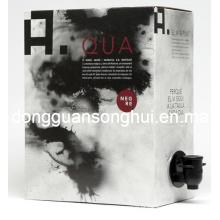 Saco do vinho na caixa / saco do babador para o vinho / saco da embalagem do vinho