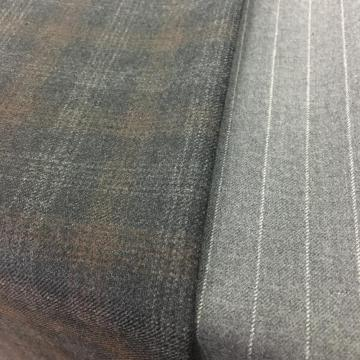 Slight Milled Finish Worsted Fabric