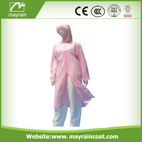 Custom Design Adult PVC Rainwear