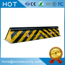 hydraulic road blocker for sensitive department