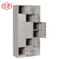 KD structure steel 18 door staff locker
