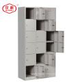 KD estrutura de aço 18 porta pessoal armário