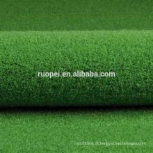 Tapete decorativo de relva artificial com alta qualidade