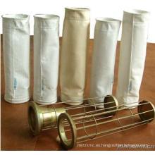 Venta al por mayor de alta calidad de la bolsa de filtro de jaula para el colector de polvo con tubo de Venturi