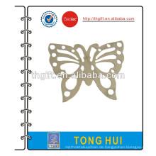 Metall-Lesezeichen mit Schmetterlings-Design