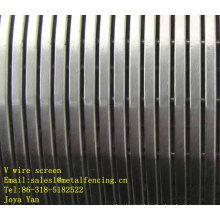 V wire screen