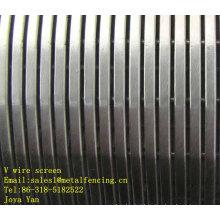 V wire screen