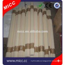 tubo de cerámica del alúmina puro / tubo de alúmina puro refractario de alta temperatura alto