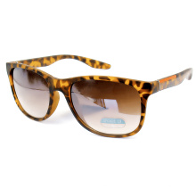 Cat Eye Leopard Print Fashion Polarized Sunglass for Women (14257)