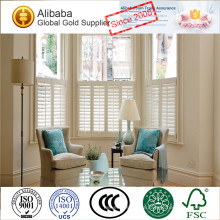 Ventana de persianas de tilo y PVC con la mejor calidad