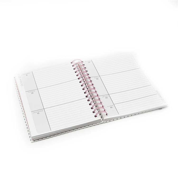 Custom Paper Notebook Printing Notepad Agenda Notebook