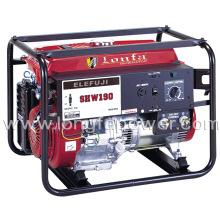 Generador eléctrico de la gasolina de la soldadura de Elemax del comienzo eléctrico de Shw190