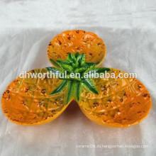 Прекрасный керамический поднос для ананаса