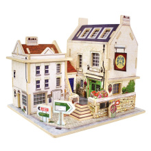 Wood Collectibles Toy pour Global Houses-Britain Bar