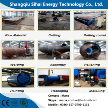 Waste+Plastic+Cracking+Machine+in+Cooling+System