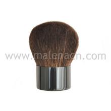 Pelo de cabra de alta calidad Kabuki cepillo de belleza para polvo