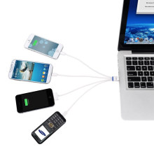 ORICO CU4S USB Mini-i5-i4 Cable de carga para dispositivos móviles