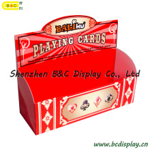 Spielkartenbox, Geschenkbox, PDQ Display Box, Verpackung Box, Papier Box (B & C-D028)