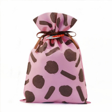 Reusable Valentine's Day Non-woven Plastic Drawstring Bags