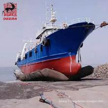 Airbag marin en caoutchouc pneumatique certifié ISO pour le lancement de navires