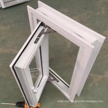 Foshan  factory house window glass design upvc casement windows