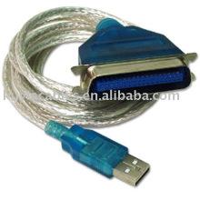 De Buena Calidad USB a la IMPRESORA IEEE 1284 Puerto Paralelo