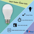 E27 7W LED Microwave Motion Sensor Bulb