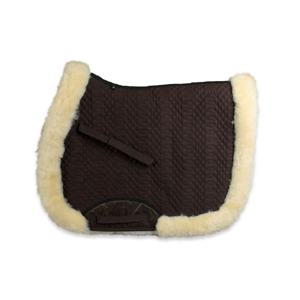 sheepskin full saddle pad