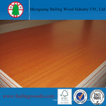 18mm Melamine Faced Chipboard for House Furniture