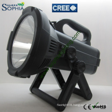 Long Range High Power Rechargeable Spotlights CREE LED Flash Light 30W 2000lumens/3000lumens