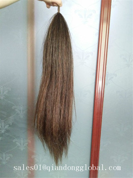 Brown False Horse Tail Hair